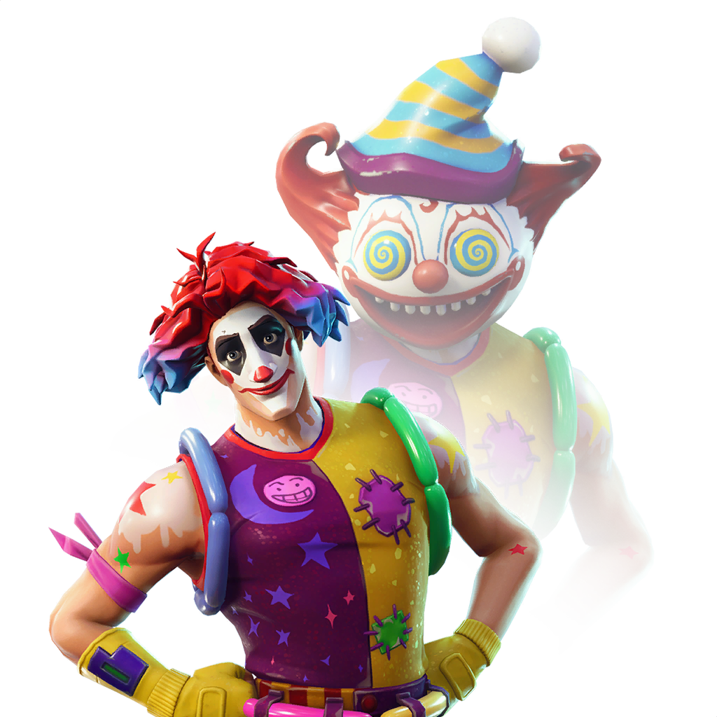 Battle Royale Toy Fortnite Clown Free HD Image PNG Image