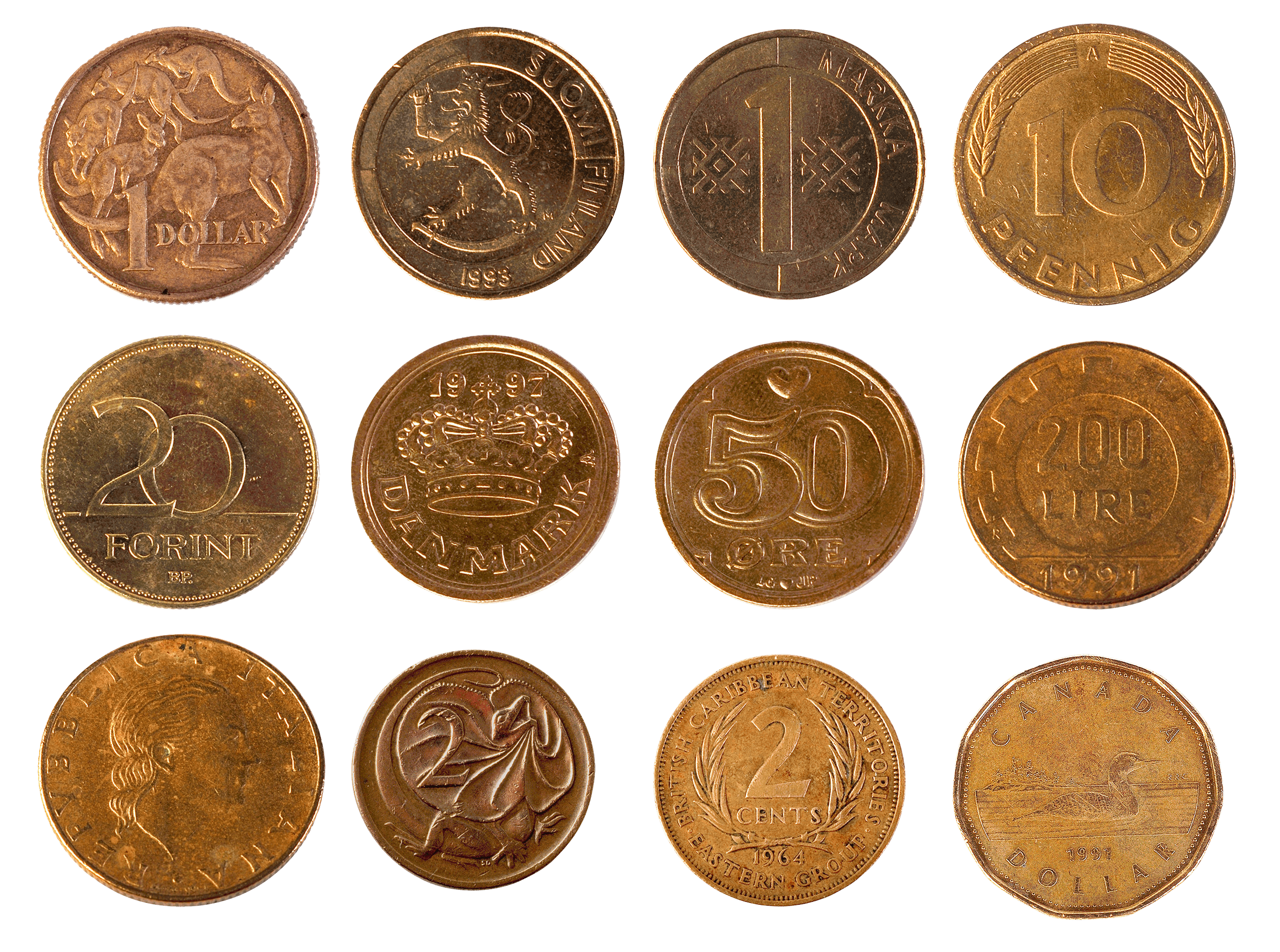 Coins Png Image PNG Image
