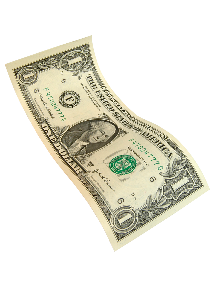 United Banknote Money Dollars Bill Dollar One-Dollar PNG Image