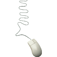 White Computer Mouse Png Image PNG Image