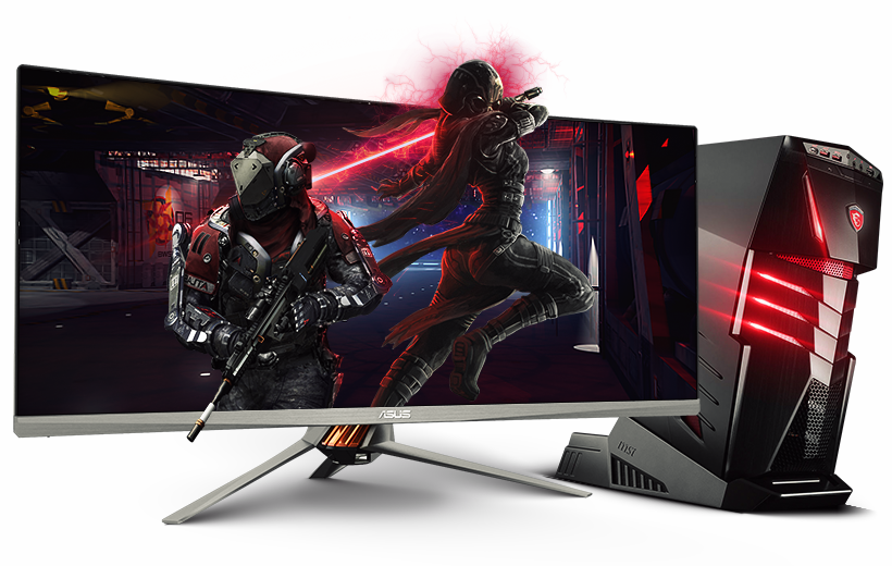 Gaming Computer Transparent Picture PNG Image