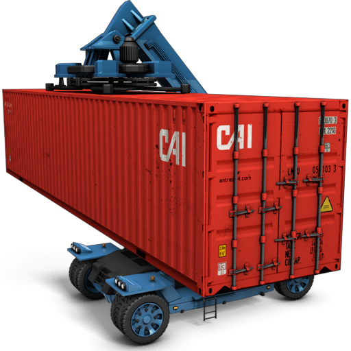 Container Transparent Background PNG Image