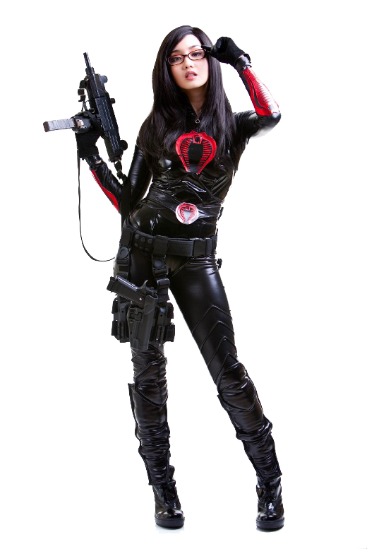 Cosplay Women File PNG Image