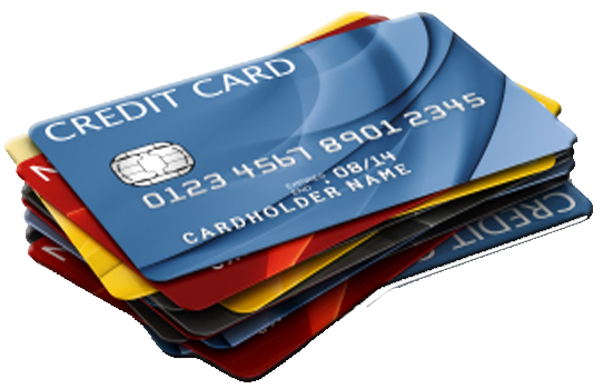 Credit Card Transparent Background PNG Image
