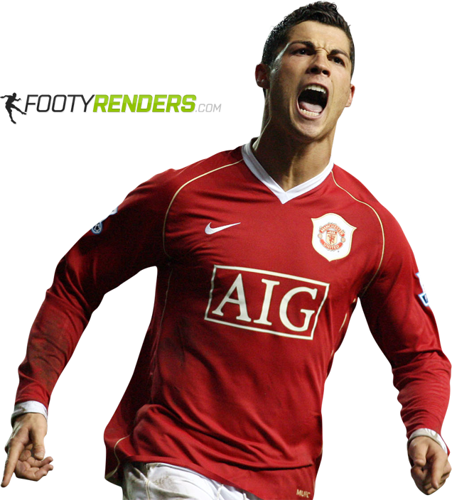 Cristiano Ronaldo Football Player Sport Clothing Jersey PNG Image