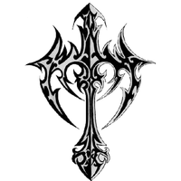 Cross Tattoos Picture PNG Image