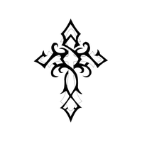 Cross Tattoos Free Png Image PNG Image