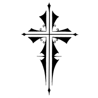Cross Tattoos Free Download Png PNG Image