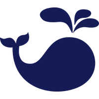 Cute Whale Transparent Picture PNG Image