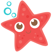 Cute Starfish Transparent Background PNG Image