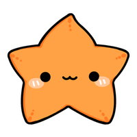 Cute Starfish Transparent PNG Image