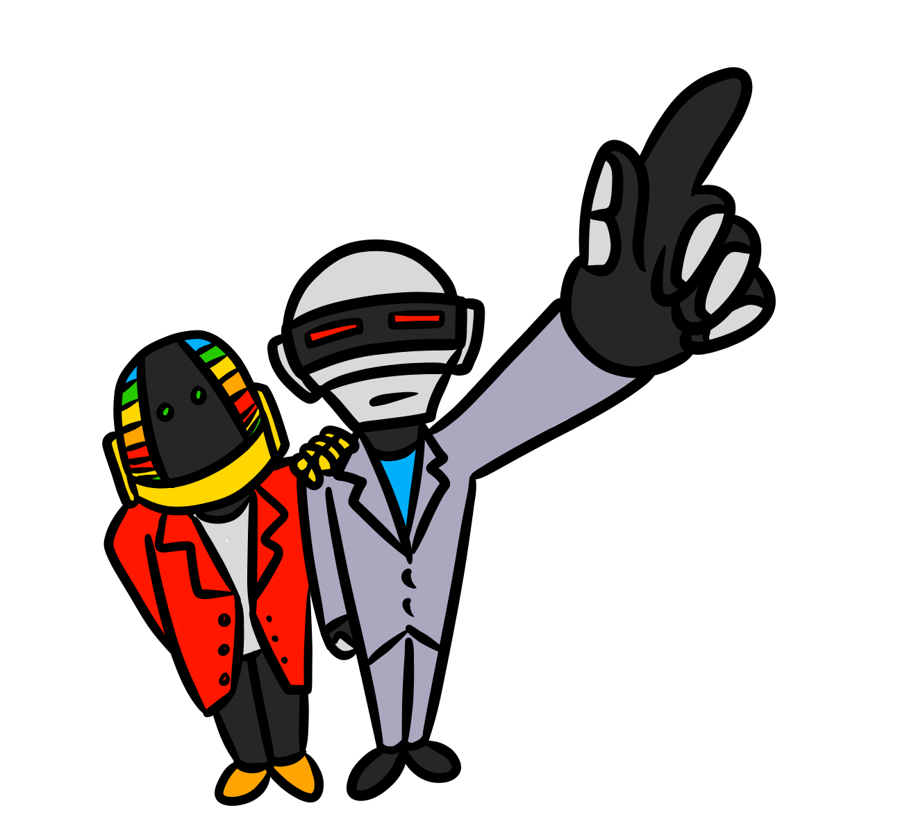 Daft Punk Picture PNG Image
