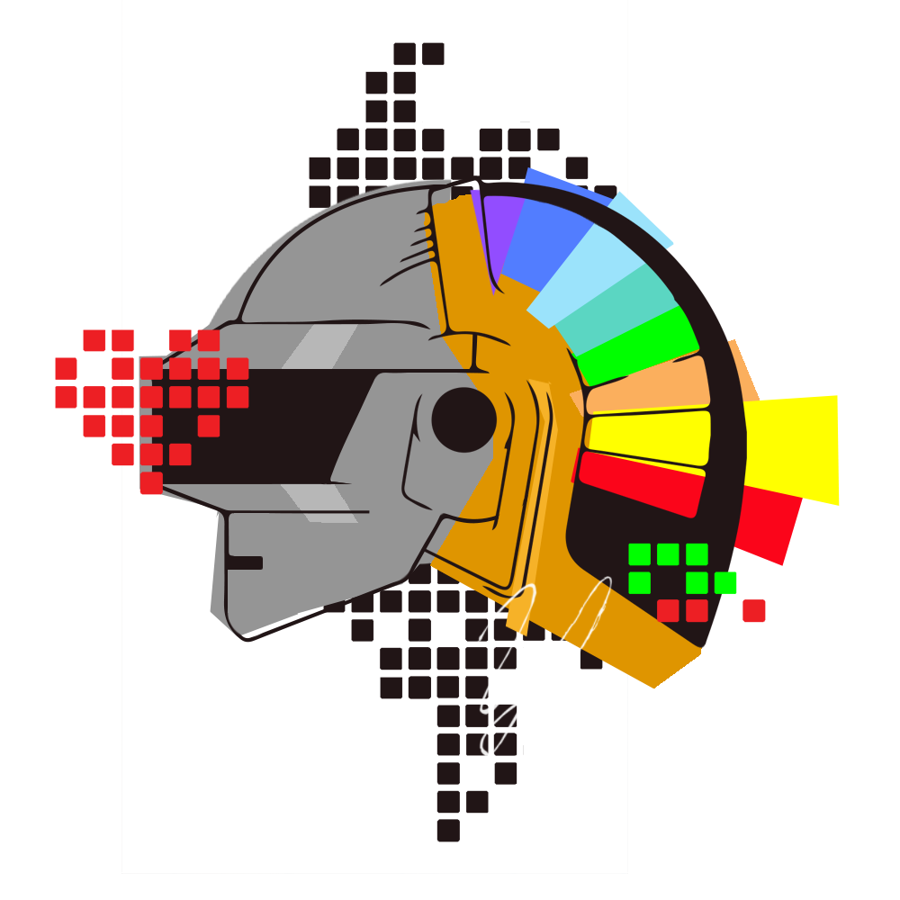 Daft Punk Transparent Picture PNG Image