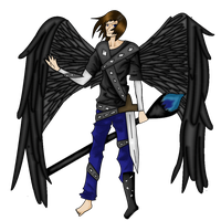 Dark Angel Transparent PNG Image