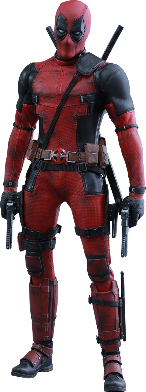 Deadpool Full Body Png PNG Image