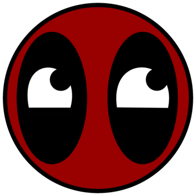 Deadpool Face Png PNG Image