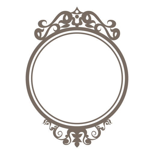 Round Frame Clipart PNG Image