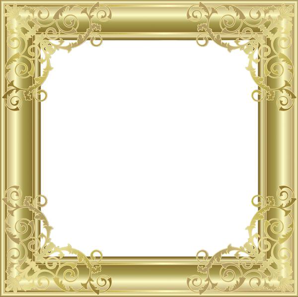 Download Gold Border Frame Picture HQ PNG Image   FreePNGImg