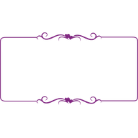 Decorative Border Free Download Png PNG Image