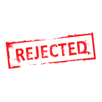Denied Stamp Png Clipart PNG Image