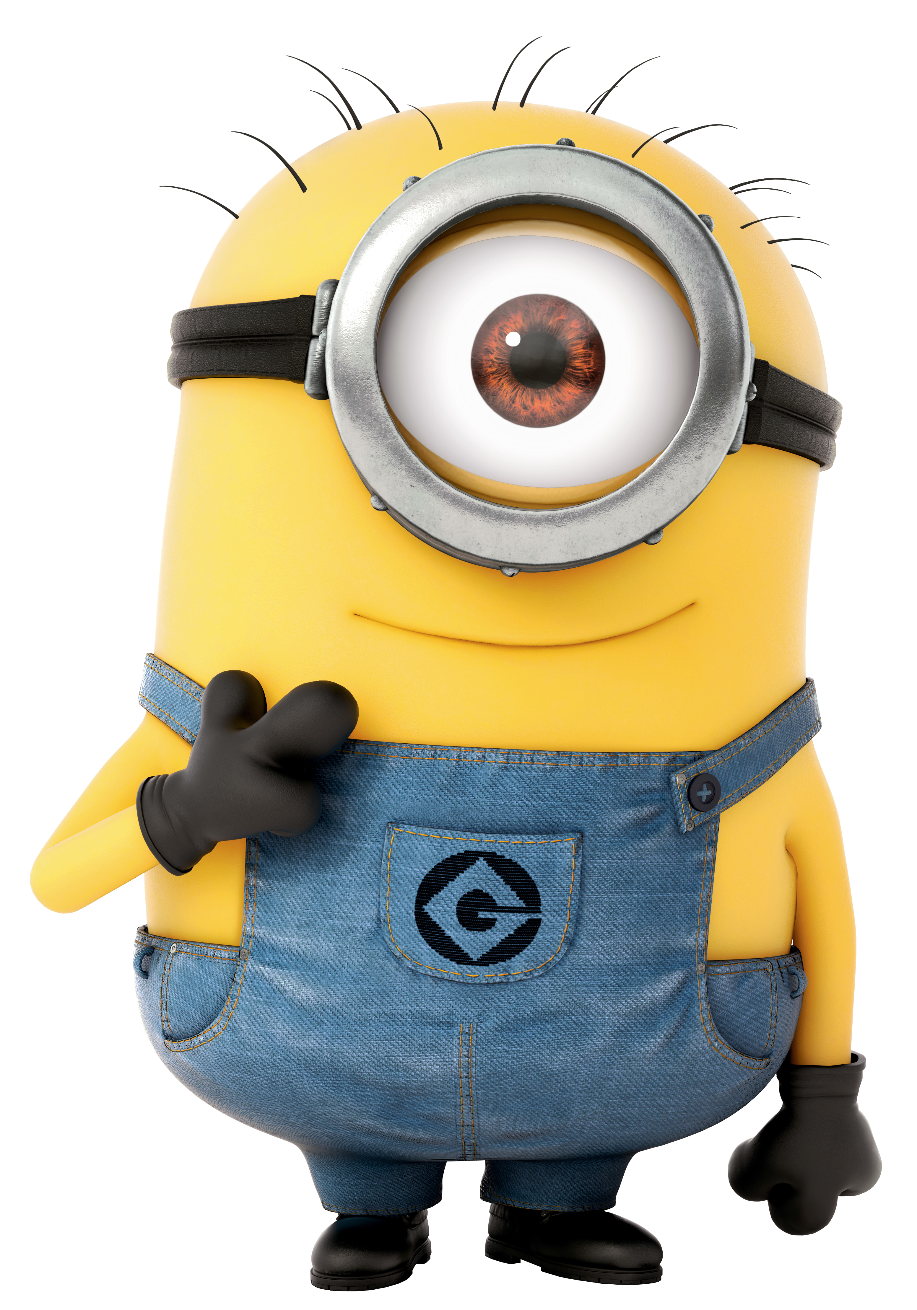 Me Rush Toy Minion Dave Despicable Stuffed PNG Image