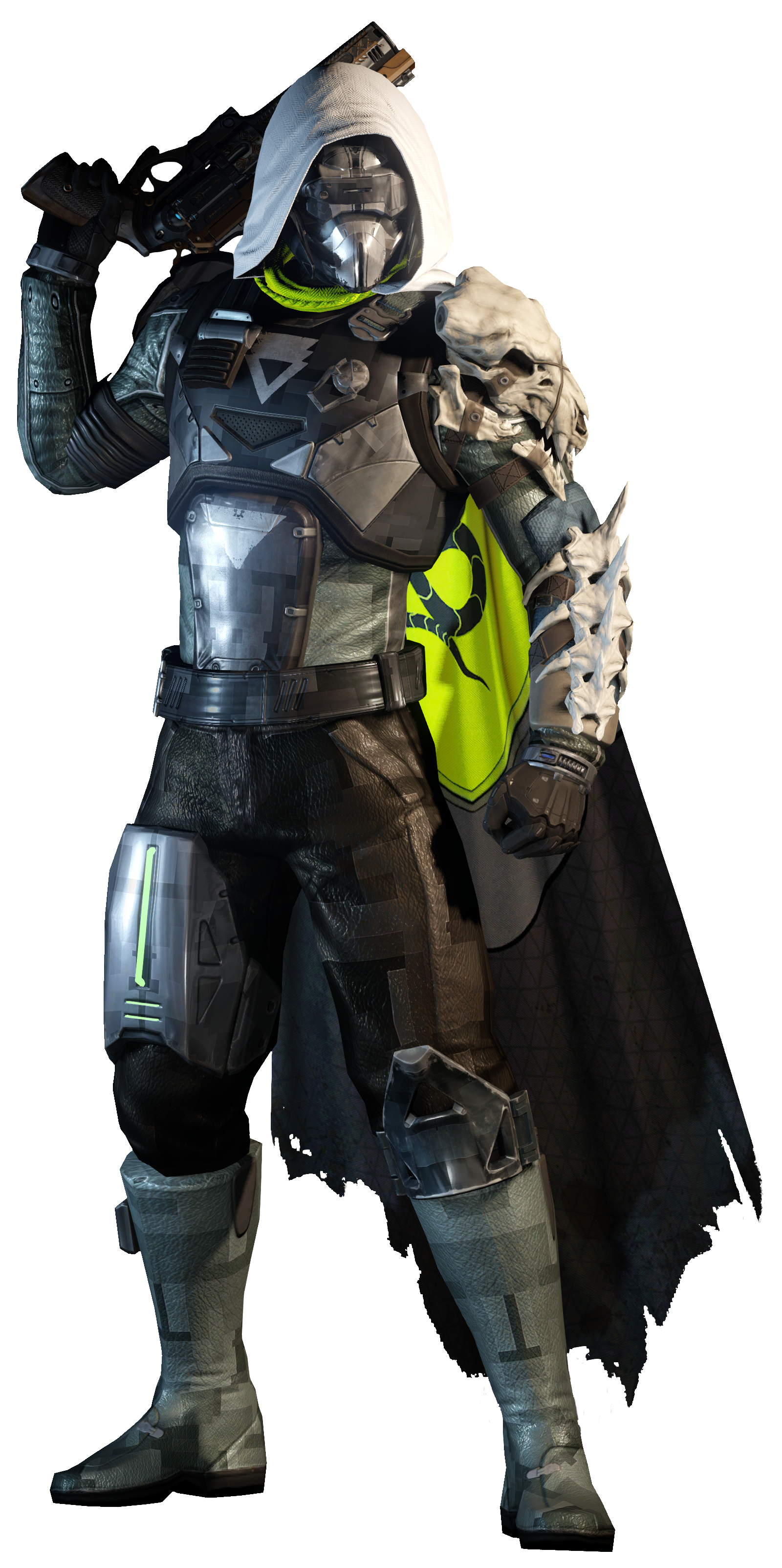 King Destiny Character Armour Hunter Fictional Taken PNG Image