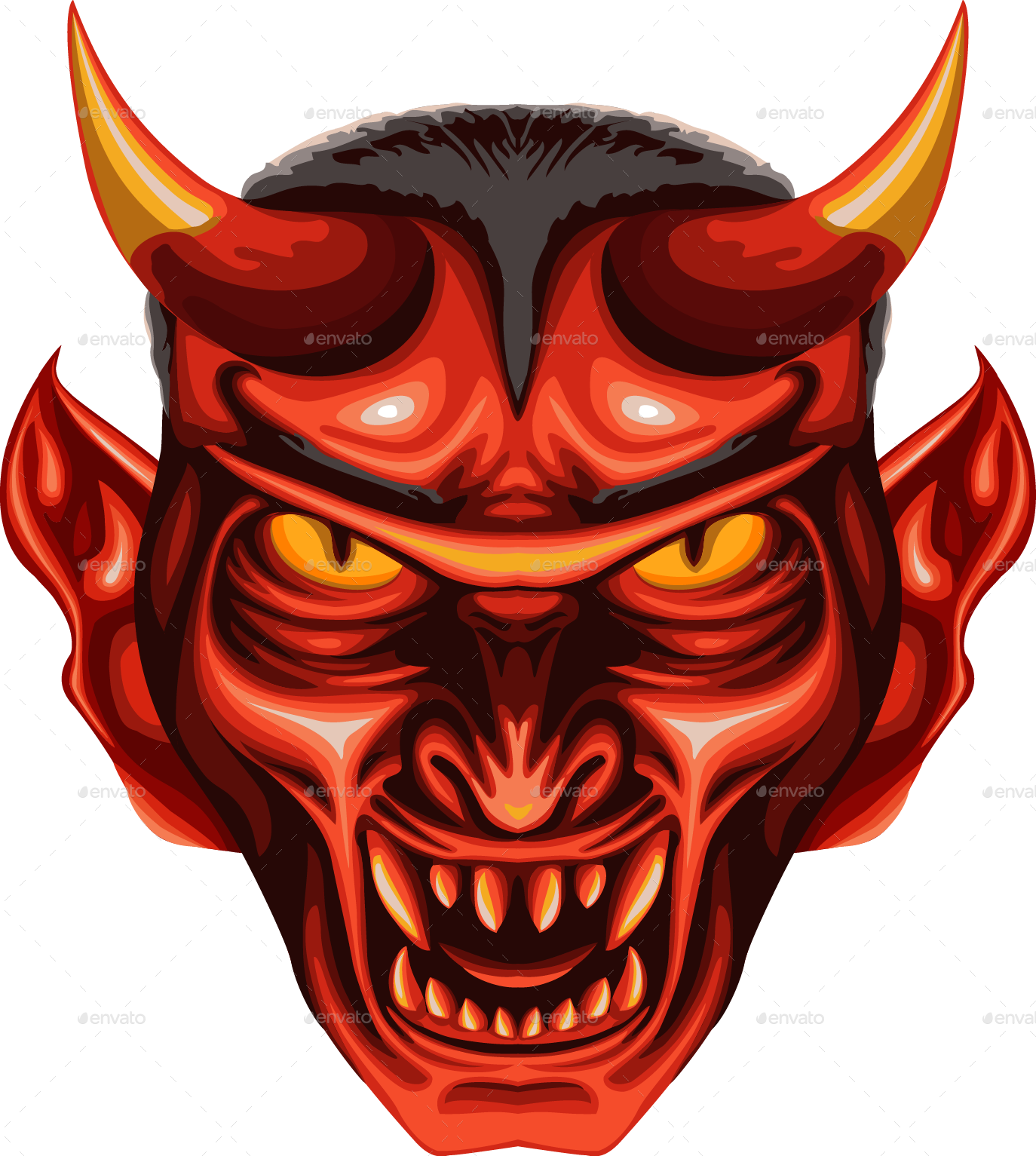 Devil face photos png image