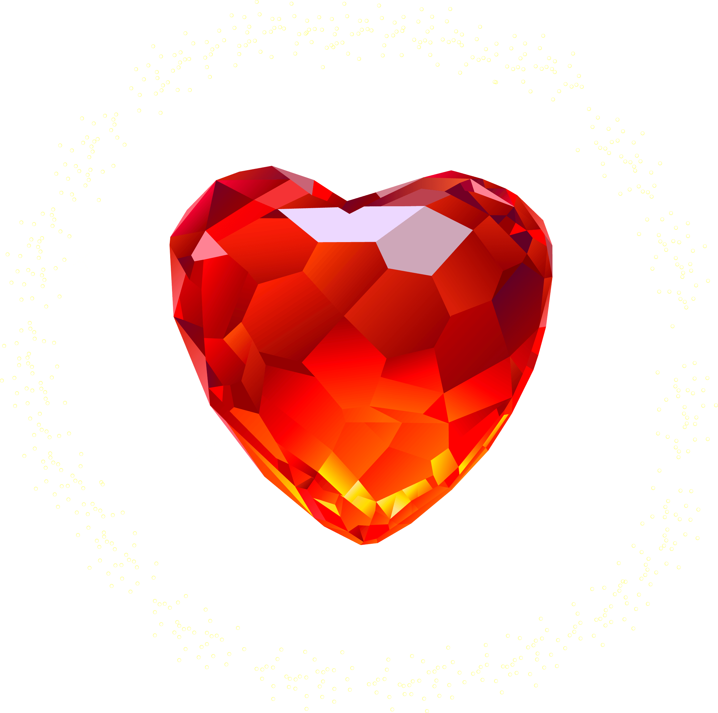 Heart Diamond Png Image PNG Image