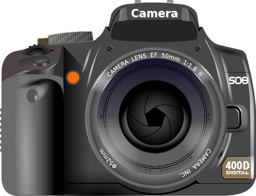 Digital Slr Camera Transparent Background PNG Image