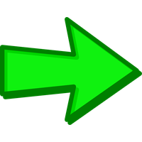 Green Arrow Transparent PNG Image