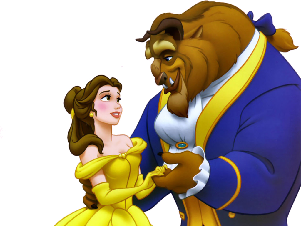 Beauty And The Beast Image PNG Image