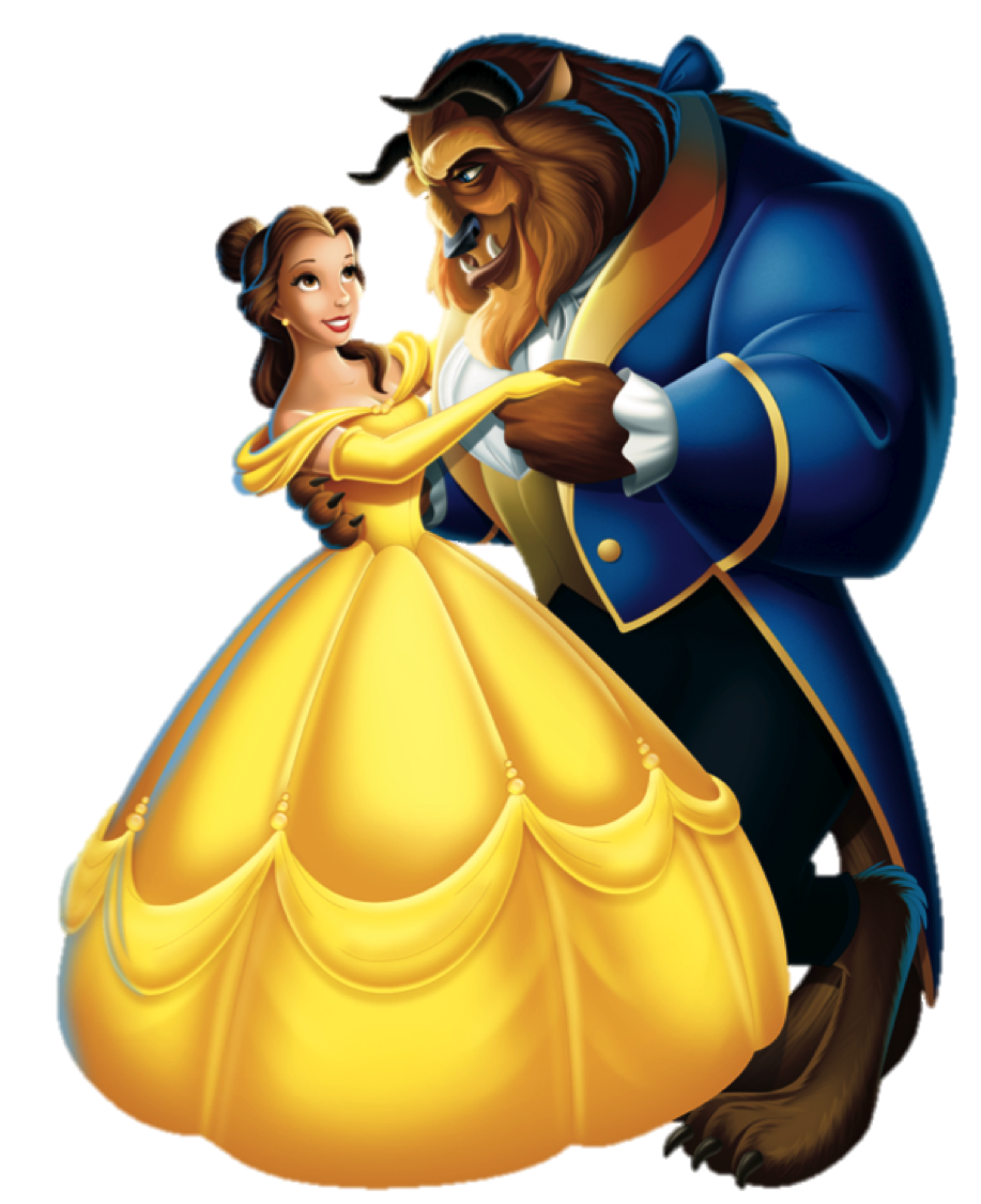 Beauty And The Beast Clipart PNG Image