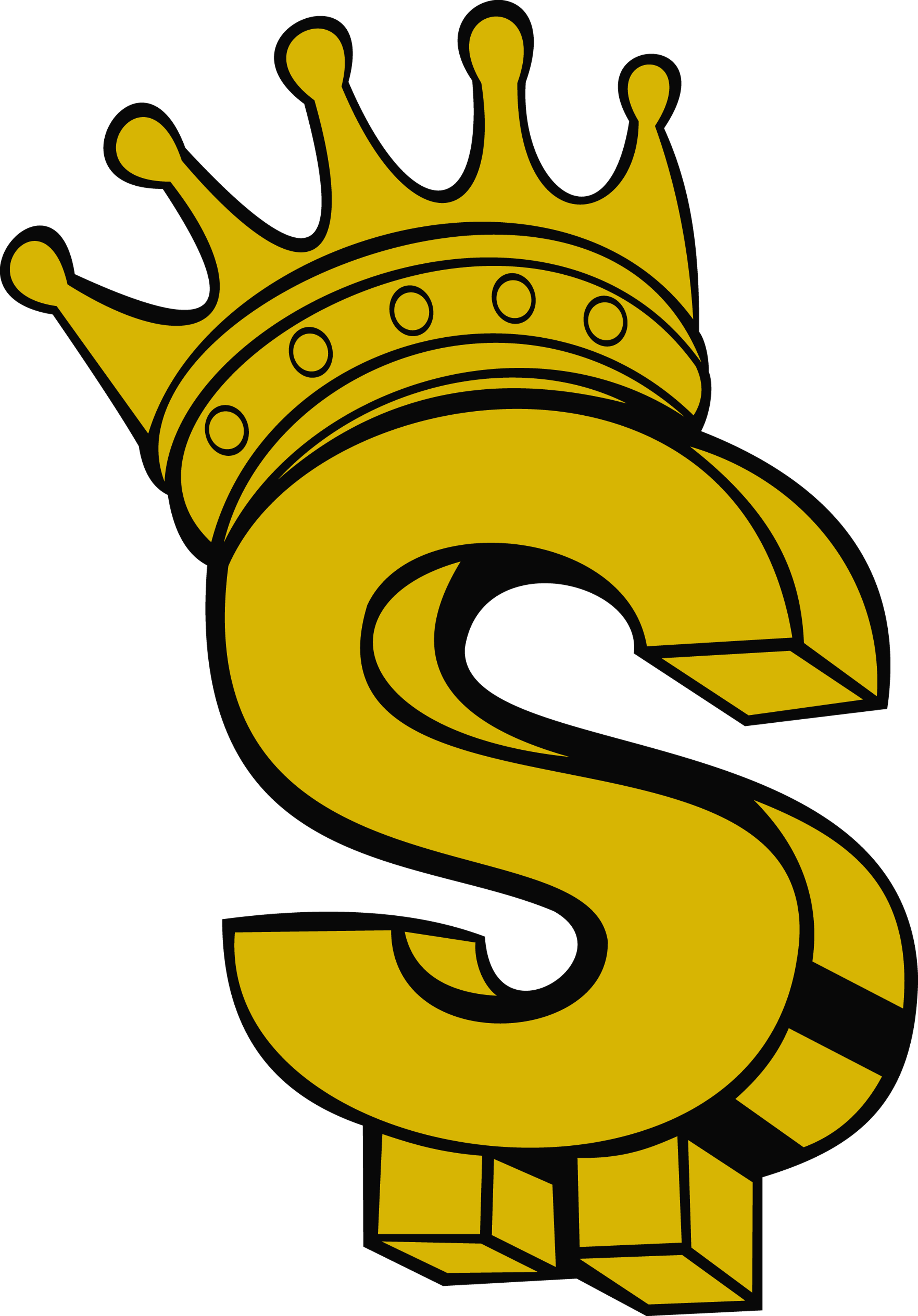 Wearing Dollar Crown Royalty-Free Coin With Sign PNG Image