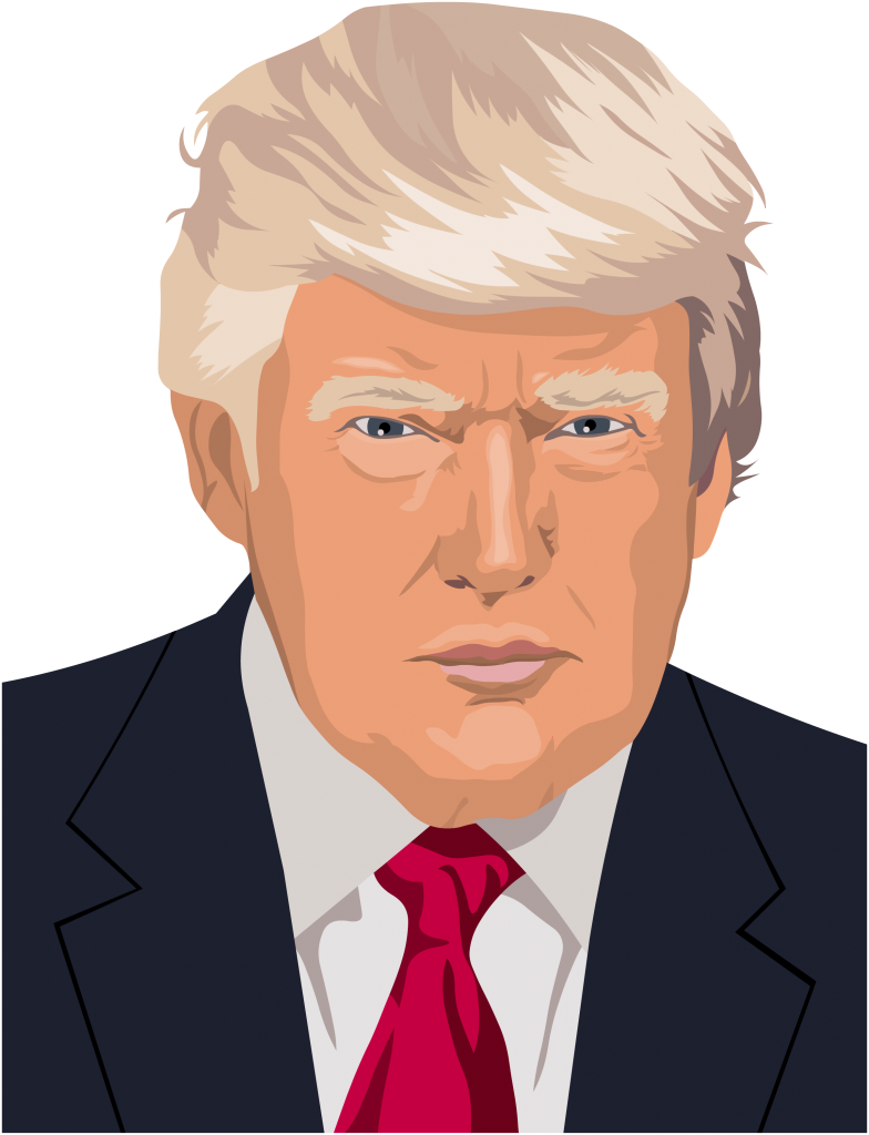 Hairstyle United Art Trump Us States Donald PNG Image