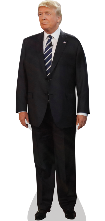 United Trump States Donald Wear Suit Formal PNG Image