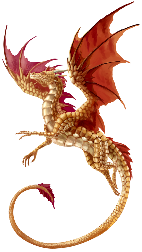 Flying Dragon Transparent Background PNG Image