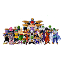 Dragon Ball Z Characters File PNG Image