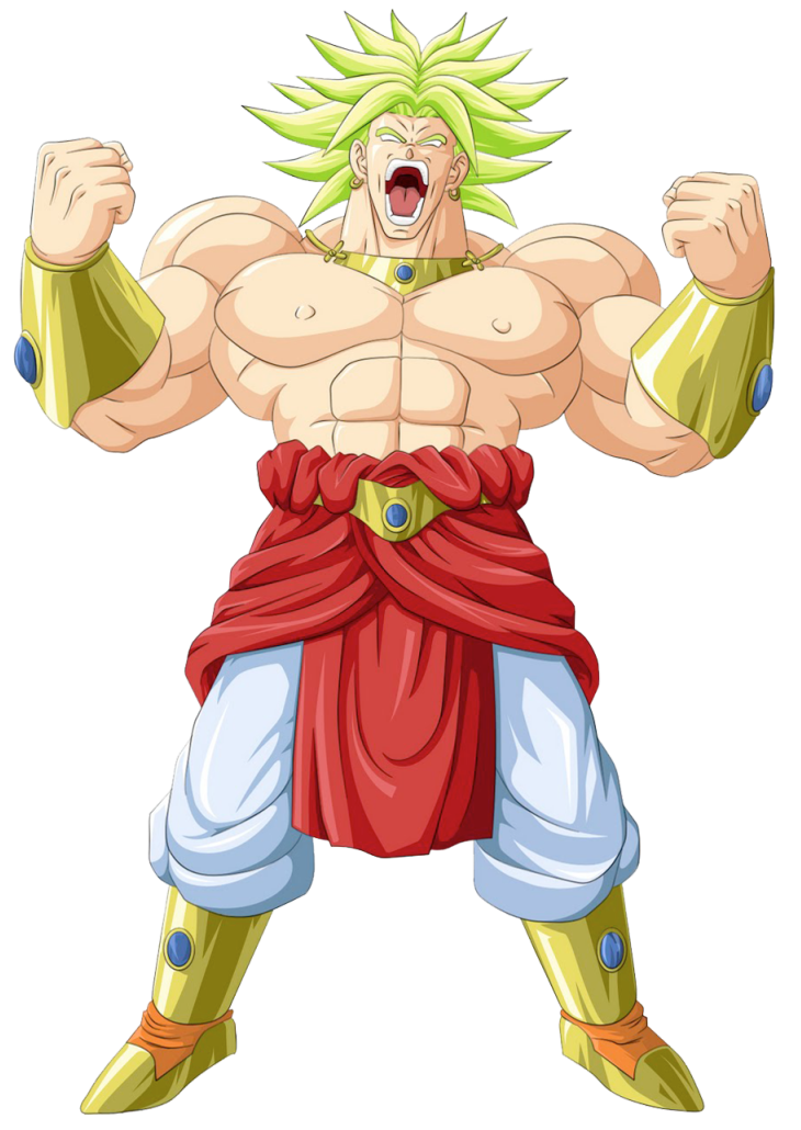 Dragon Ball Broly Transparent PNG Image