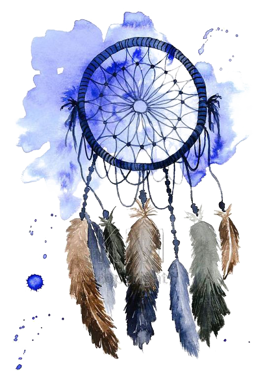 Watercolor Painting Drawing Dreamcatcher PNG File HD PNG Image
