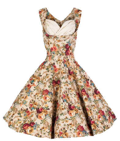 Floral Dress Hd PNG Image