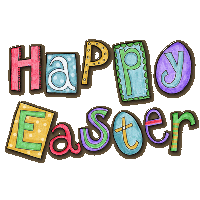Happy Easter Transparent Background PNG Image