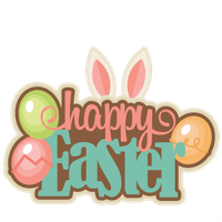 Happy Easter Clipart PNG Image