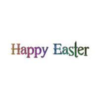 Happy Easter Photo PNG Image