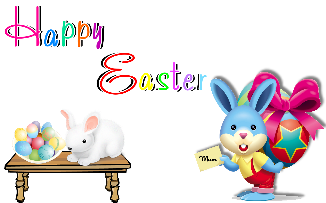 Happy Easter Transparent PNG Image