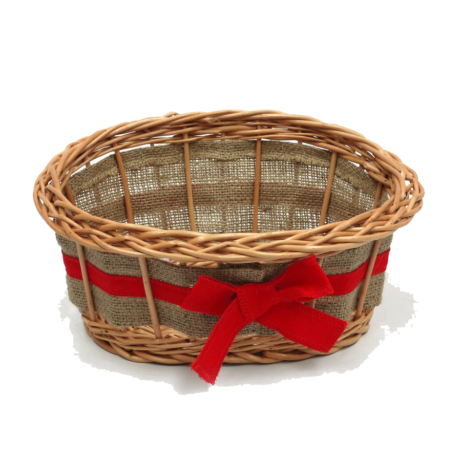 Empty Easter Basket Transparent PNG Image
