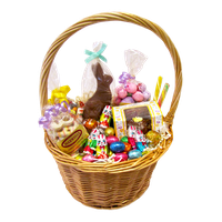 Download Easter Basket Bunny Free PNG photo images and ...
