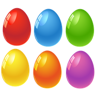 Easter Eggs Png Image PNG