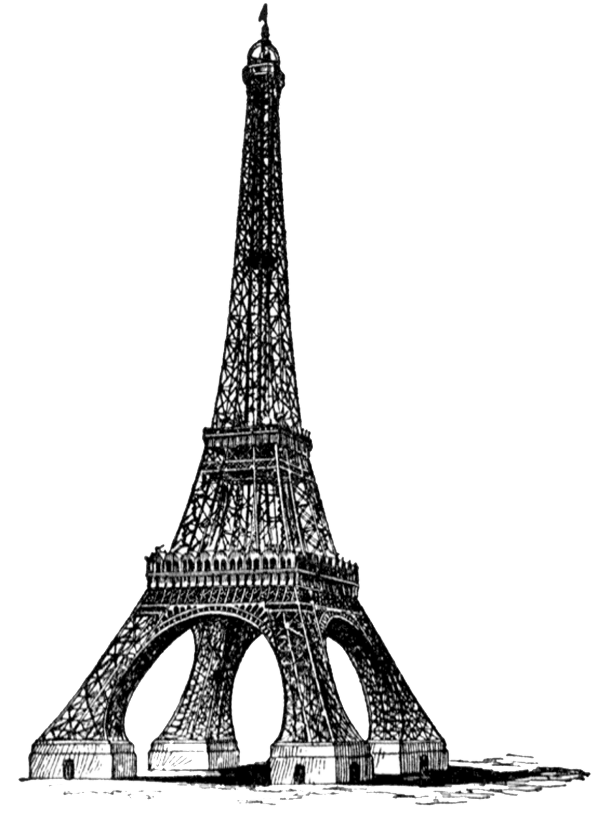 Eiffel Tower Free Download Png PNG Image