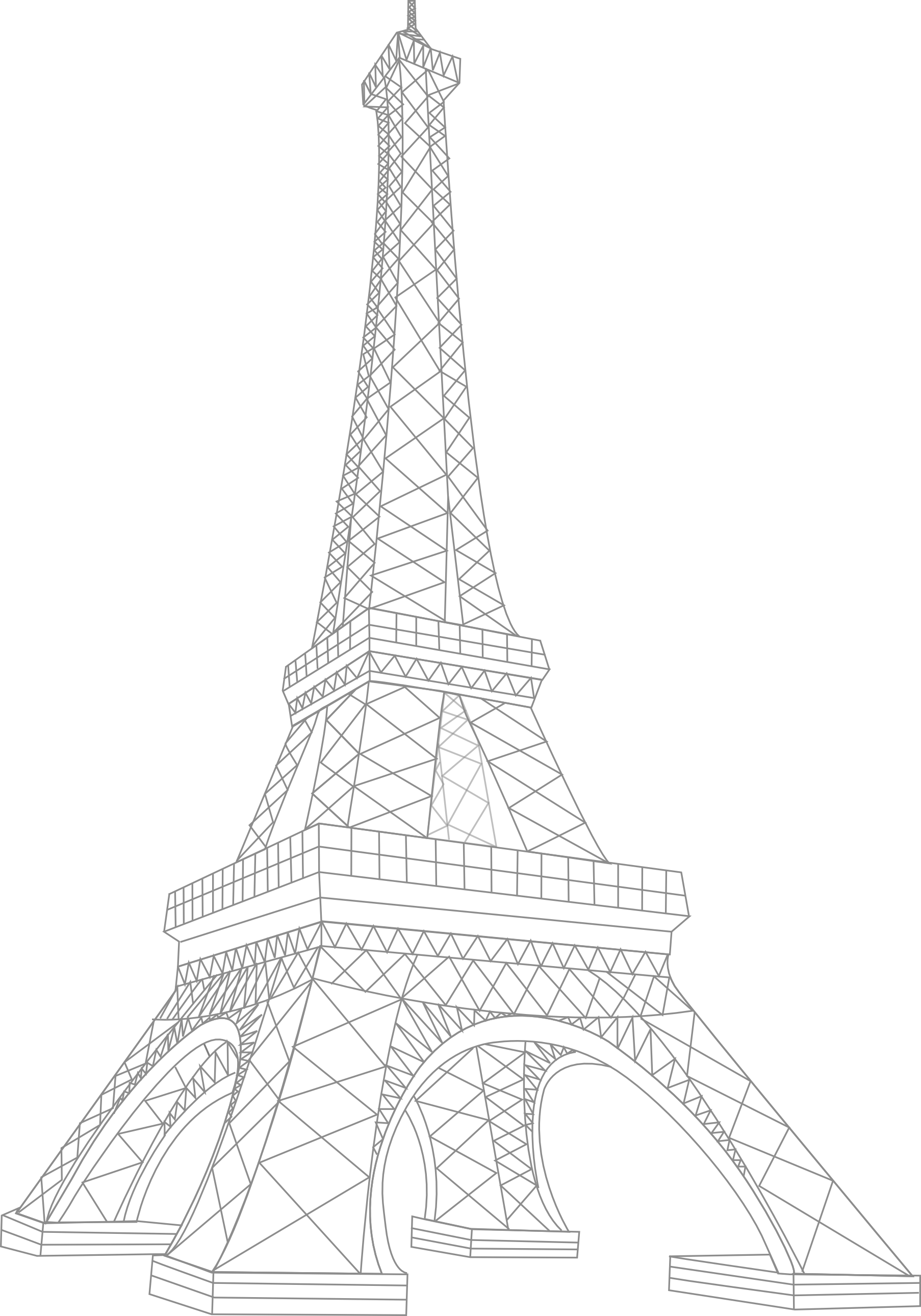 Eiffel Tower Transparent PNG Image