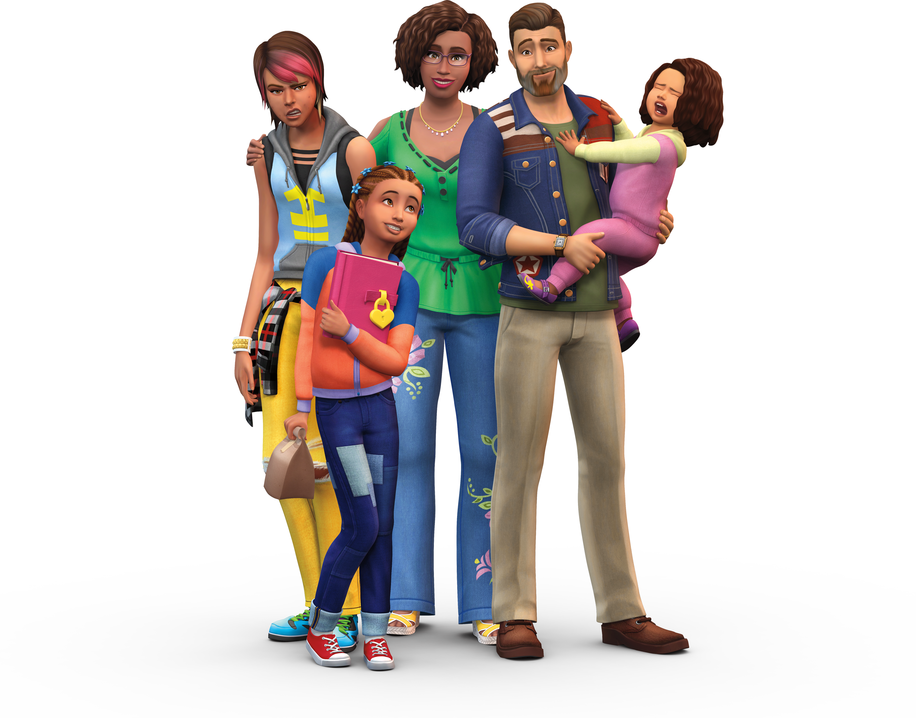 Sims Shoulder Outdoor Human Parenthood Pets Behavior PNG Image